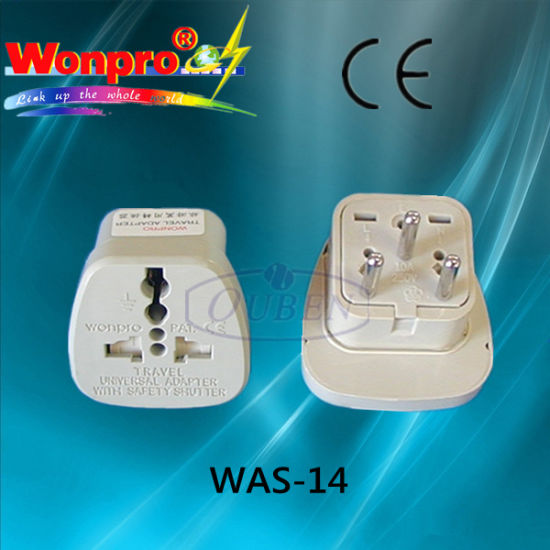 Universal Travel Adaptor-Socket, Plug (WA-14) pictures & photos