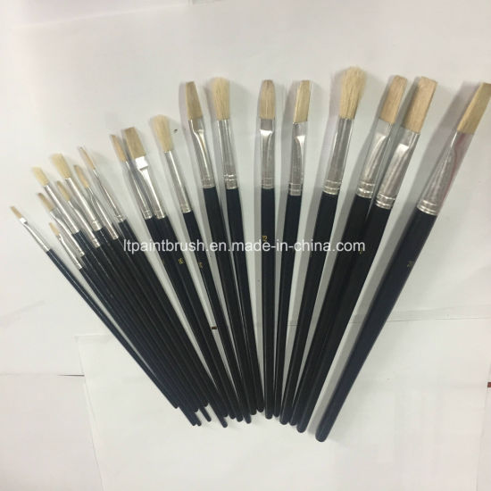 Round Head Artist Oils Paint Brush for School and Office