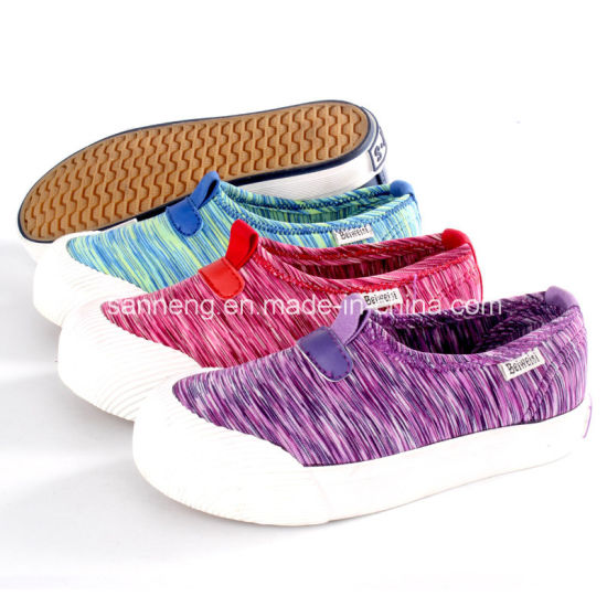 Casual Kids Footwear/ Slip-on Shoes with Rubber Outsole (SNC-021082)