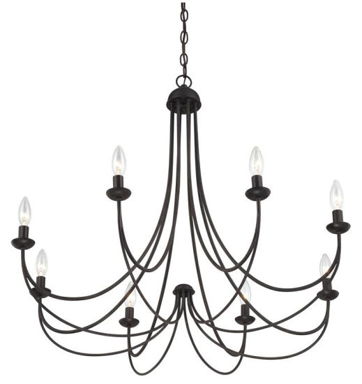 Iron Chandelier Lighting with Clean Design for Home Design Styles (SL2501-8) pictures & photos
