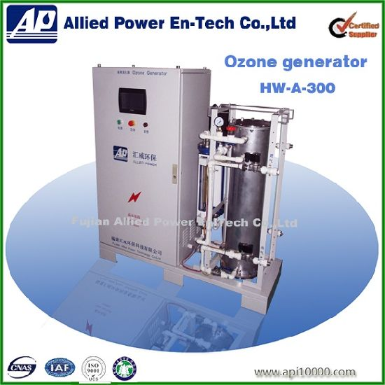 Corona Discharge Ozone Generator for Flavor Factory Waste Water Reduce Cod