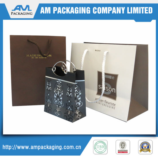 Promotional Fashion Custom Skirt Shopping Paper Bag pictures & photos