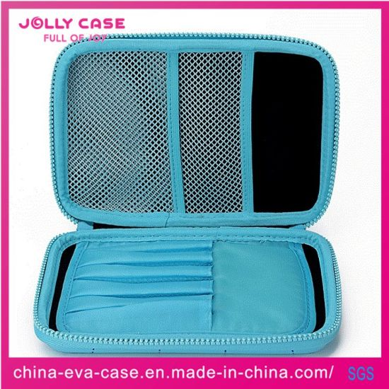 China Best Custom Blue Hardtop EVA Stationery Pencil Case pictures & photos