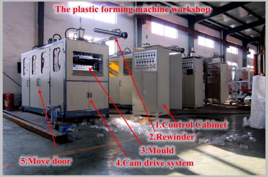 Fully Automatic Plastic Cup Thermoforming Machine pictures & photos