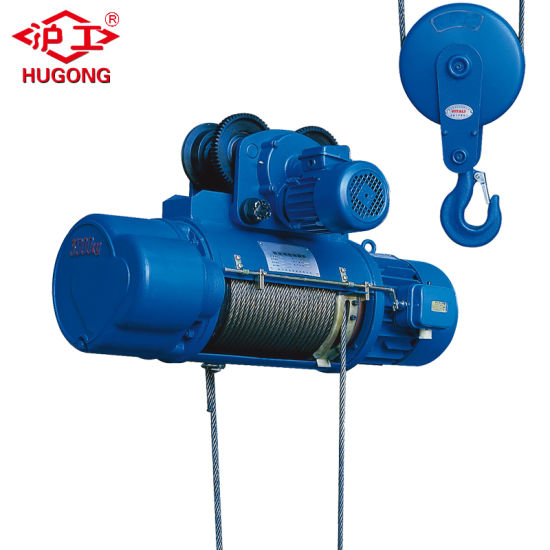 380V 50Hz 3p Customised Wire Rope Electric Hoist pictures & photos