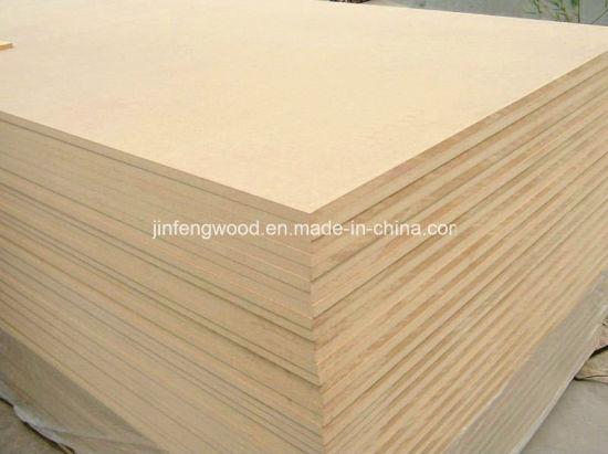 ISO9001 Grade E1 Melamine MDF/ Plain MDF (1220*2440mm)