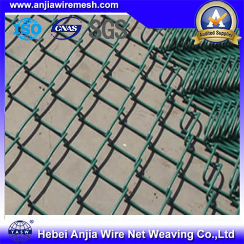 chain link fence parts. PVC Coated Wire Mesh Chain Link Fence Parts For Building Material With SGS