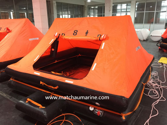 Good Quality ISO 9650 Approval Yacht Liferaft pictures & photos