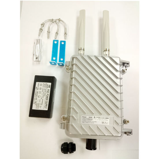 Outdoor Wireless Ap 2 4GHz 11n 300Mbps WiFi Router Openwrt OS Atheros 9341  Chip Solution WiFi Coverage