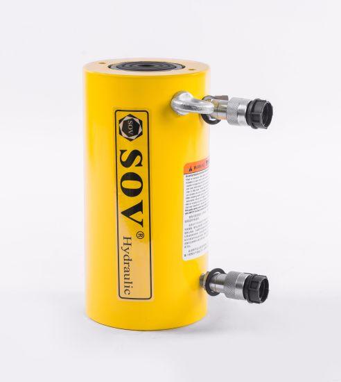 150 Ton 300 mm Stroke Hydraulic Oil Return Hydraulic Cylinder