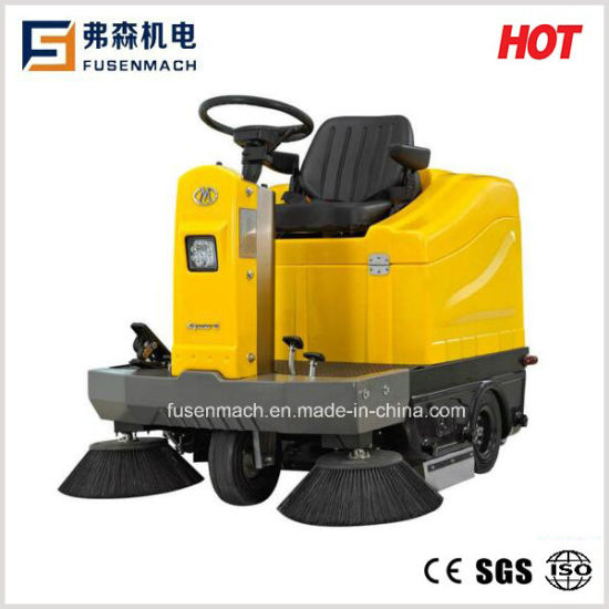 Ride on Floor Sweeper Fs-2 (Productivity 8100m2 /h) Ce Approved