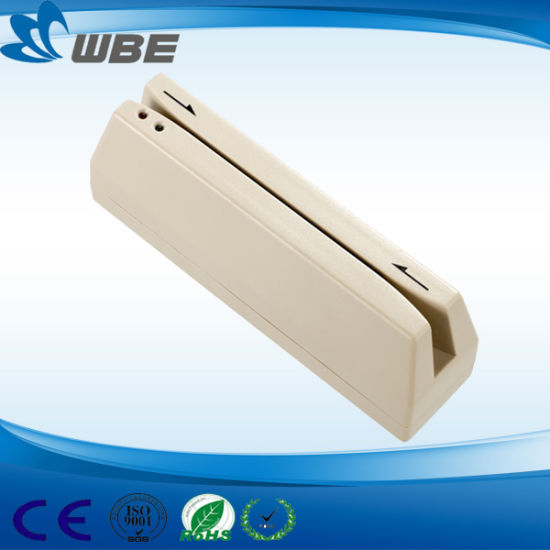 Wbe Manufacture Magnetic Swipe Card Reader (WBT-1200) pictures & photos
