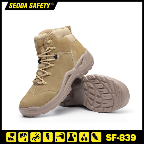 Wholesale Lightweight Safety Toe Soft Sole Safety Work Boots