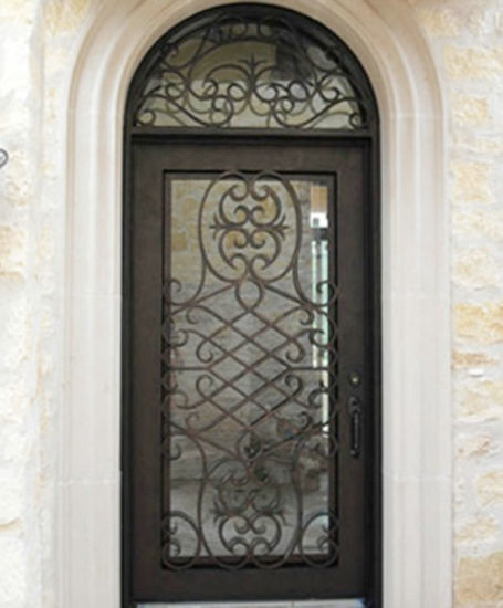 China High Quality Best Price Single Iron Entry Door 48x120 China