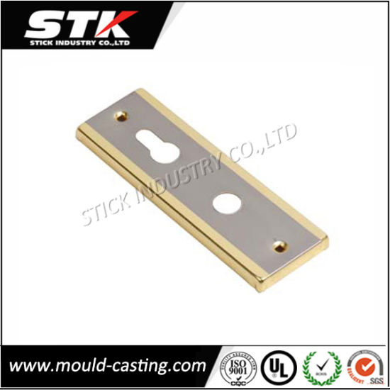 Zinc Alloy Die Casting with Chrome Plating Safe Lock pictures & photos