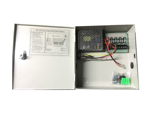 4channel 5 0a cctv backup metal box power supply backup battery rh rxcctvtracy en made in china com