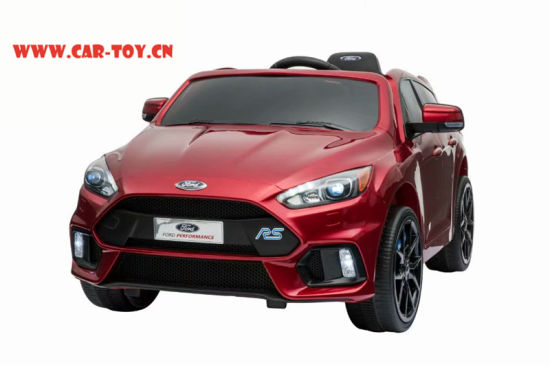 Licensed Ford Focus Rs Vehicle Toys With Remote Control Red China
