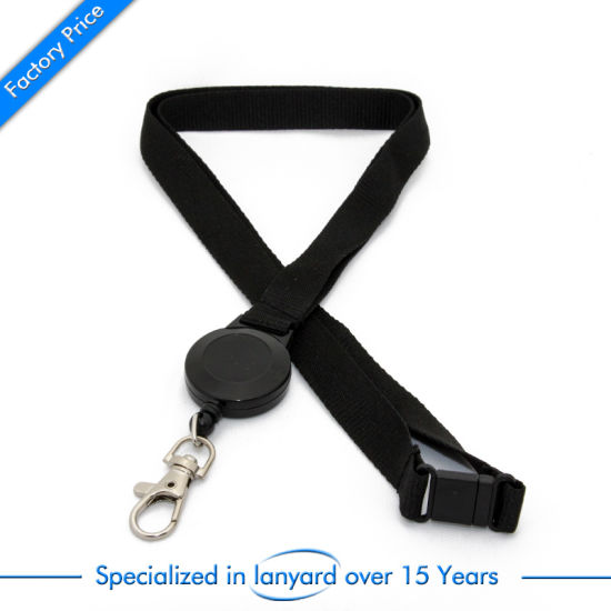 Promotional Gift Nylon Printed Lanyard Monogrammed Embroidered Pull Phone Holder pictures & photos