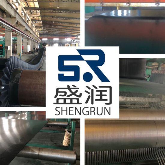 Abrasion Resistance Nylon Ep Fabric Rubber Conveyor Belt in Conveyor
