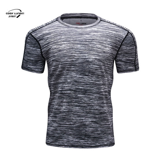 Cody Lundin Custom Design Your Own Spandex Cotton Sublimation Sports Casual Mens Workout Fitness Dry Fit Gym T Shirt