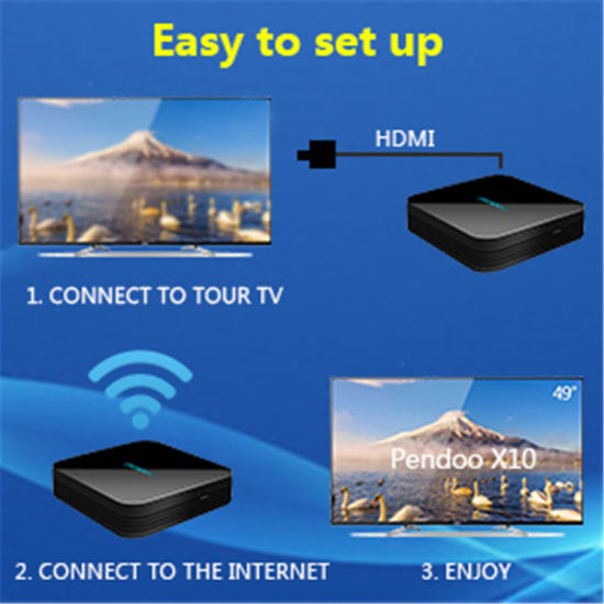 2018 Hot Style Newest Pendoo X10 PRO S912 3G 32g TV Box 2018