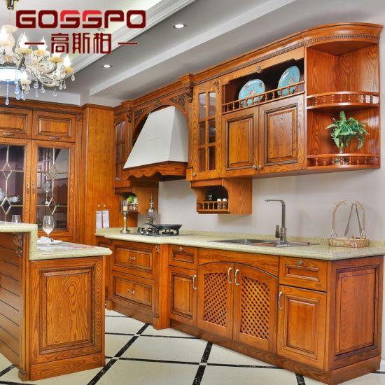 China Customized Mahogany Wood Grid Cabinet Door Designs