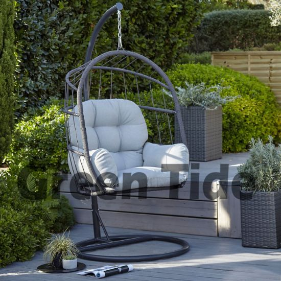 Brilliant 2019 New Fashion Rope Woven Outdoor Furniture Hanging Swing Egg Chair Download Free Architecture Designs Ferenbritishbridgeorg