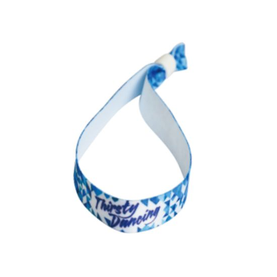 Promotional Hot Sale Sublimation Polyester Wristbands as Giveaway Gift Items