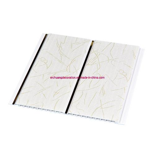 300mm Width Price PVC Wall Ceiling Panel 3D PVC Wall Panel Ghana Plastic Bathroom Wall Cladding PVC Panel