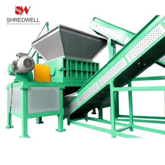 China Brand New Waste/Used/Scrap Tire/Tyre Shredding System to Make