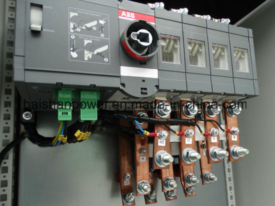 Schneider Electric ABB Brand ATS Panel Automatic Transfer Switch 4 Poles  Three Phase 400 AMP Motorized Selector