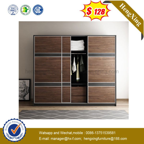 Modern Home Hotel Wooden Bedroom Furniture Sliding Door Wardrobe pictures & photos