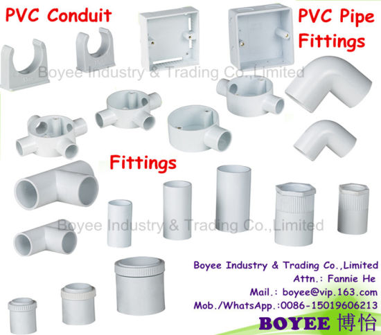White or Blue UPVC Pipes China Supplier for UPVC Pipes