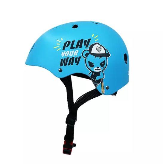 Custom Logo Baby Kids Bike Helmet Protective Safety Head Wear Rugby Headgear Kids Skateboard Helmet