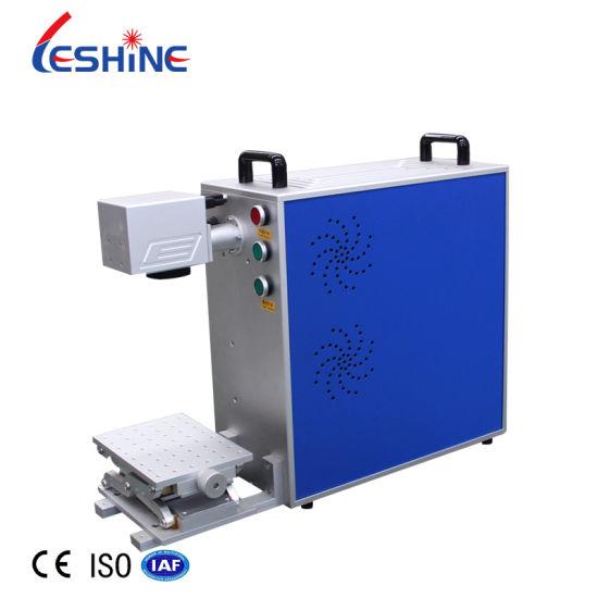 Portable Laser Marking Machine for Metal 20W Fiber Laser Marking Machine for Rings Necklace Bracelet Custom Lettering Service