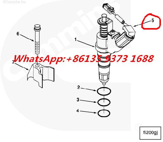 cummins ism qsm m11 l10 wiring harness kit 3071626 3803682