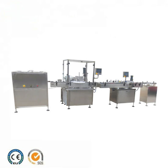 Automatic 10ml Vial Automatic Rinsing Filling and Capping Machine pictures & photos