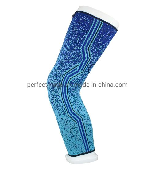 Factory Customized Sports Compression Kneepad Basketball Knee Support