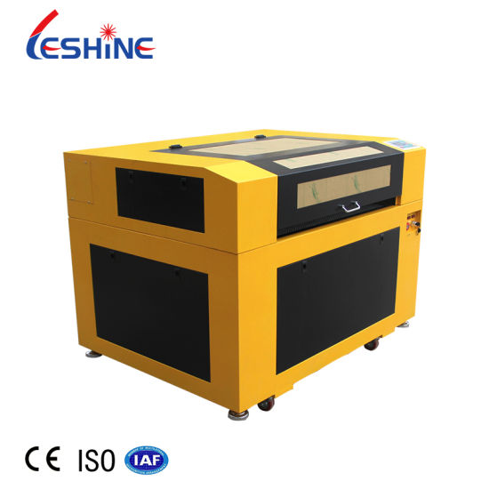 2021 Gold Quality 6090 Laser Paper Cutting Machine 80W CO2 Laser Engraving and Cutting Machine