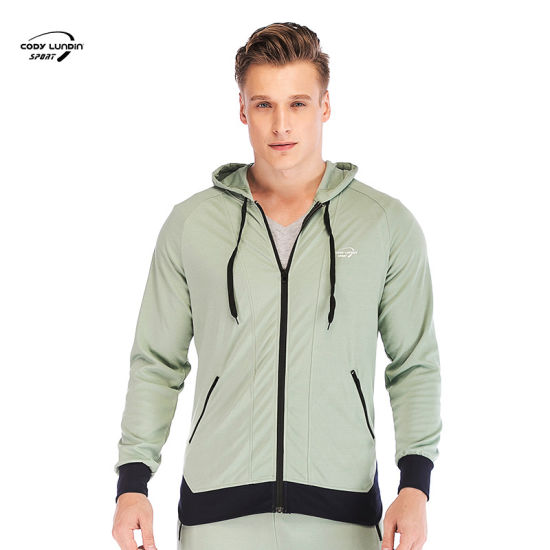Cody Lundin Autumn Winter Sport Men Hoodies Sets Men Sportswear Running Jogging Suit Male Tracksuit