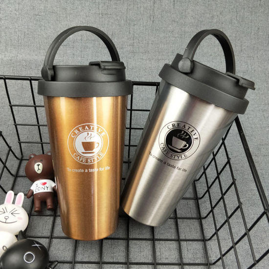 Custom Seamless Double Wall Vacuum Coffee Tumbler Mug pictures & photos