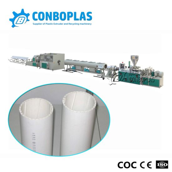 UPVC PVC Soundproof Pipe Production Extrusion Line