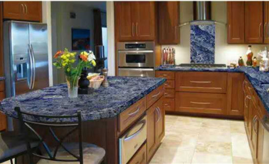 Azul Bahia Granite Countertop