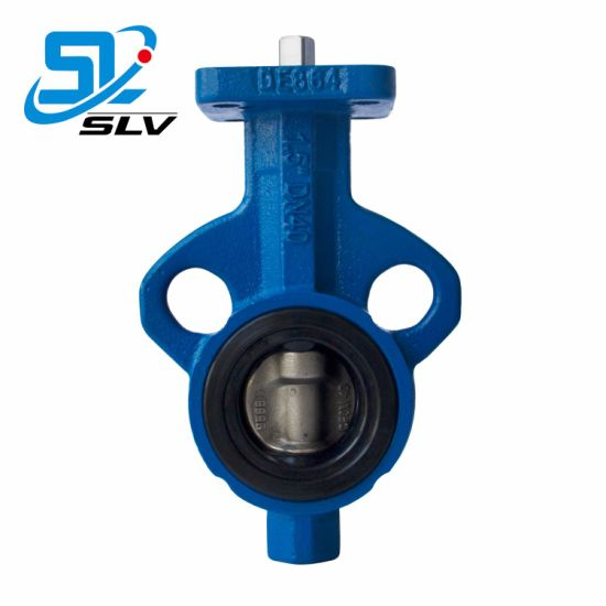 Manual Worm Gear Electric Pneumatic Eccentric Wafer Double Flange Butterfly Valve