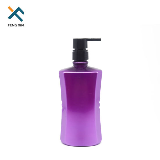 New Latest 700ml Cosmetic Shampoo Packing Plastic Pet Bottle pictures & photos