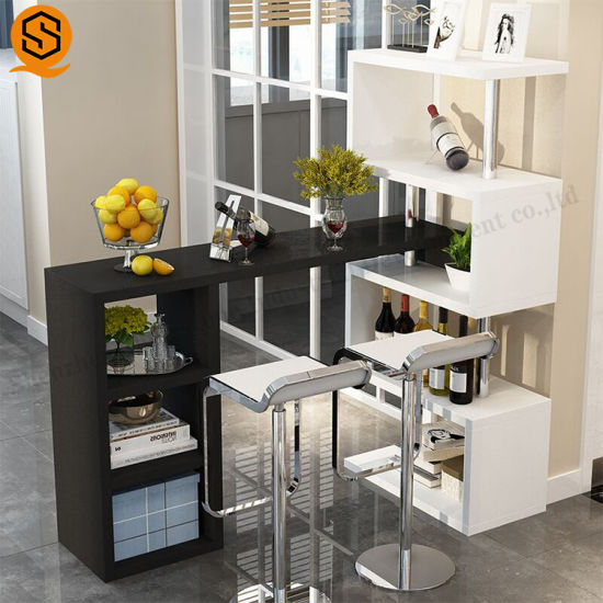 Hot Sale Acrylic Solid Surface Bar Counter Furniture for Home Bar Design