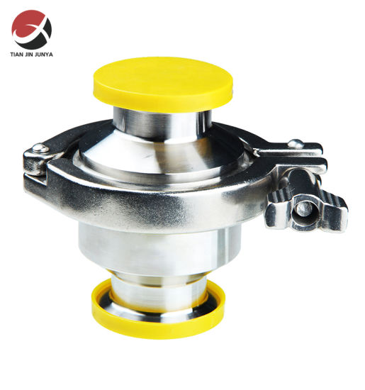 Customized OEM/ODM Manufacturer Precision Casting Sanitary 316 Stainless Steel Spring Check Valve Used in Tank,Milk,Juice,Beer,Beverage,Pharmacy Accessories