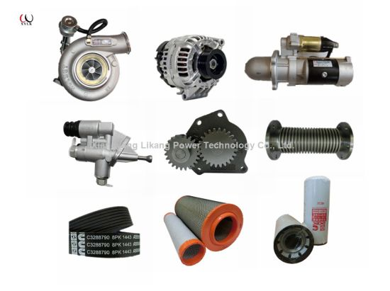 Original Cummins Generator Set Alterator Starter Motor Turbocharger Fuel Oil Transfer Pump Fan Belt Filter Diesel Engine Part pictures & photos