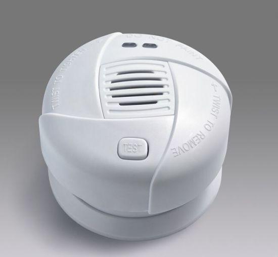 Fire Alarm White DC3V Battery Operated Mini Smoke Detector
