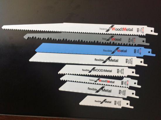 Bi-Metal Reciprocating Cutting Saw Blade for Metal and Wood
